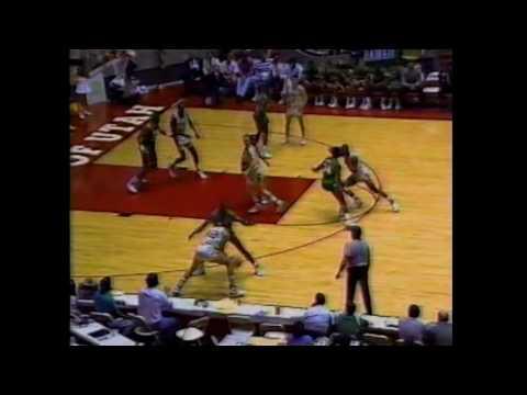 1989 WAC TOURNAMENT SEMI FINALS CSU vs HAWAII