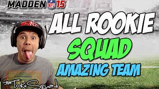 Madden 15 Ultimate Team | DRAFT SQUAD BUILDER | EPIC ROOKIE TEAM