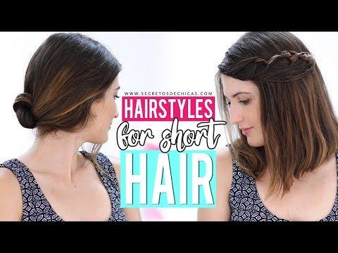 Hairstyles for short hair | Patry Jordan