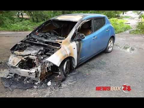 В Партизанске неизвестные сожгли машину кандидата в депутаты в Думу города
