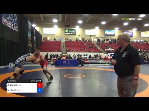 2018 Marine Corps US Open/Masters B Freestyle 100 Quarters - Quinn Collett (Unat) Vs. Matt Dunn (U