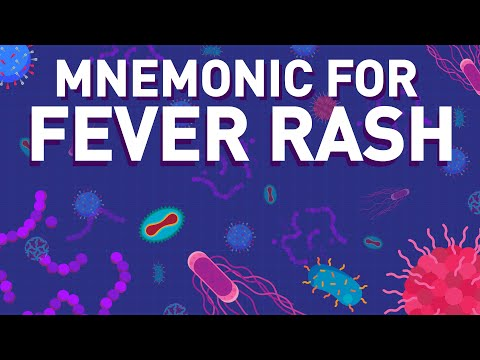 Fever Rash - Appearance Of Fever Rash Association - Mnemonic