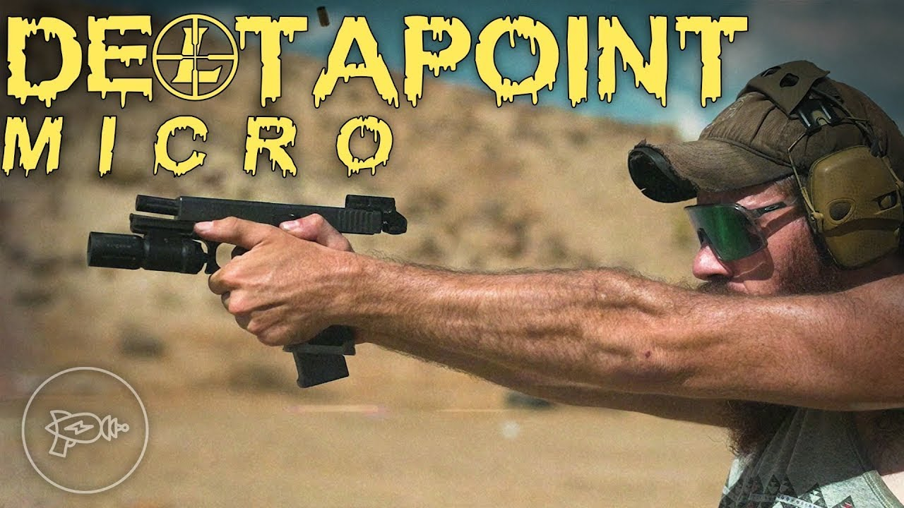 The Smallest Pistol Red Dot Yet! Leopold Deltapoint Micro [Review]