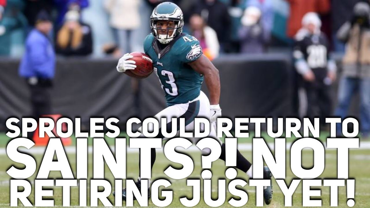 NFL roster news: Eagles' Darren Sproles to retire after season ...