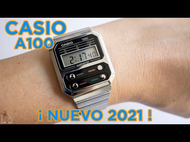 CASIO A100 EN LA MUÑECA