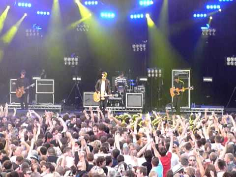 The Courteeners - Acrylic - Delamere Forest - 2/7/11