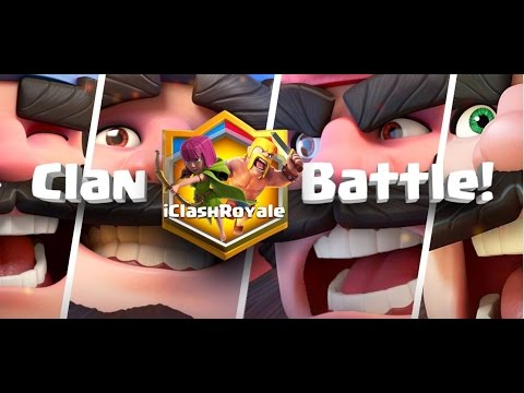 Clash Royale Clan Battle Tunisia
