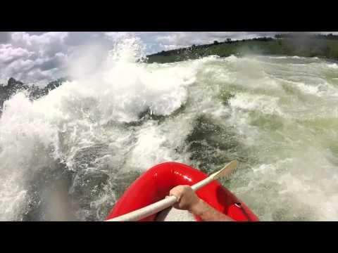 Africa GoPro: Nile River Rafting