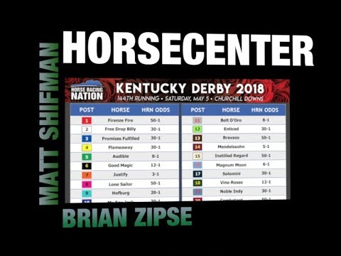 HorseCenter - Kentucky Derby 2018 betting tips, morning line, post positions