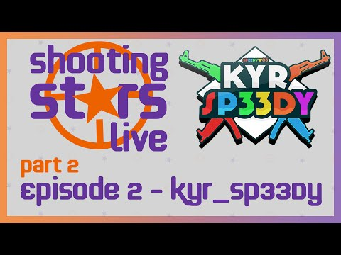Shooting Stars Live Interview - KYR_SP33DY - Episode 2 Part 2 (Gaming Interview Show)