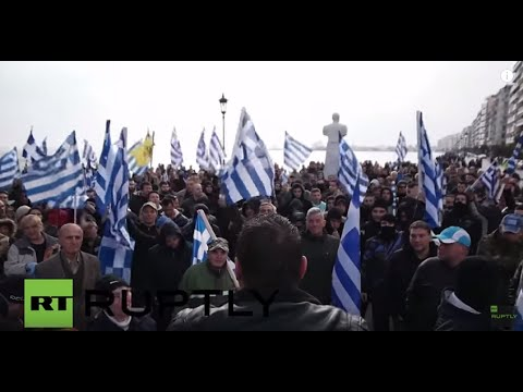 Greece: Scuffles erupt as far-right decry 'Islamification' of Greece in Thessaloniki