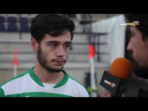 FLASH INTERVIEW - DIOGO PEDRAS ( Leça FC ) -  HATTRICK!