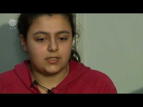 Ein junges Mädchen aus Aleppo - Syrien - schildert ihr Schicksal
