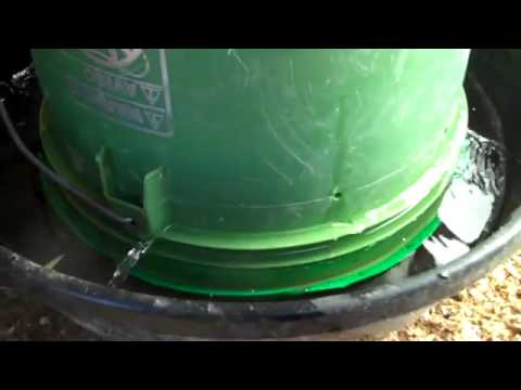 how to make a homemade chicken waterer feeder