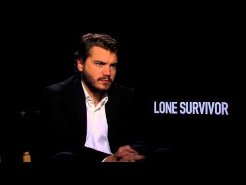 "Lone Survivor: Emile Hirsch ""Danny Dietz"" Official Movie Interview (Junket)"