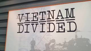 Seattle Museum of Flight 50th Year Vietnam War Exhibit.
