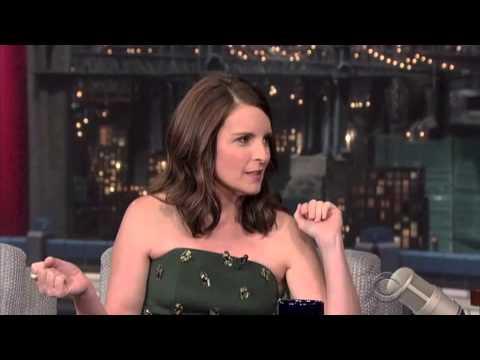 Tina Fey on David Letterman 2014 FULL