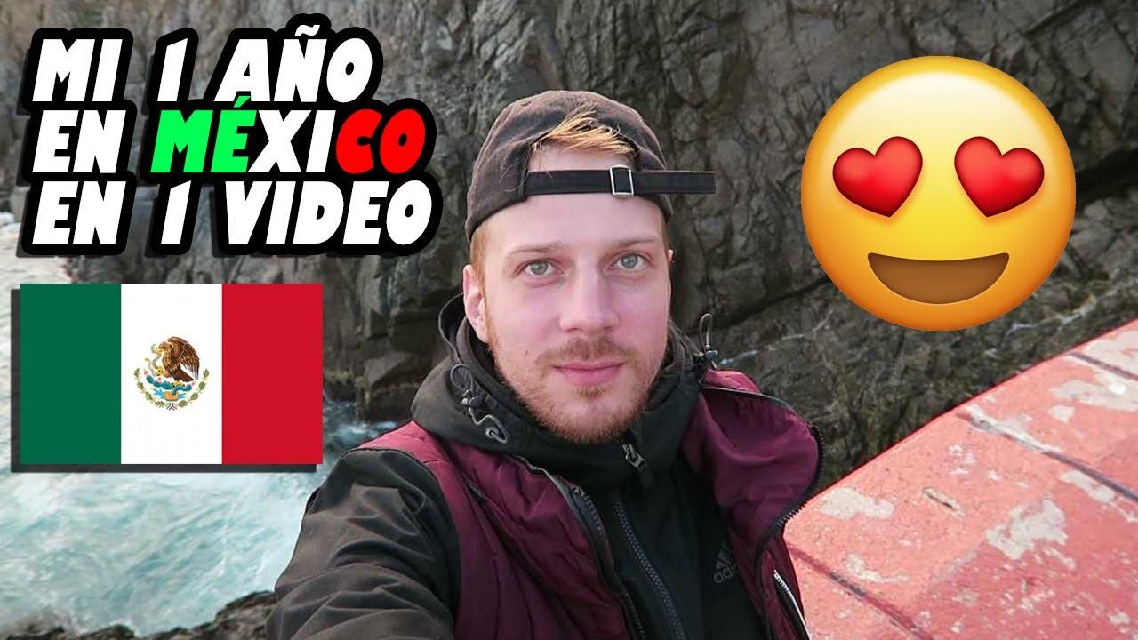¡MI 1 AÑO EN MÉXICO EN 1 VIDEO! Todos mis VIAJES por MÉXICO en 1 AÑO.