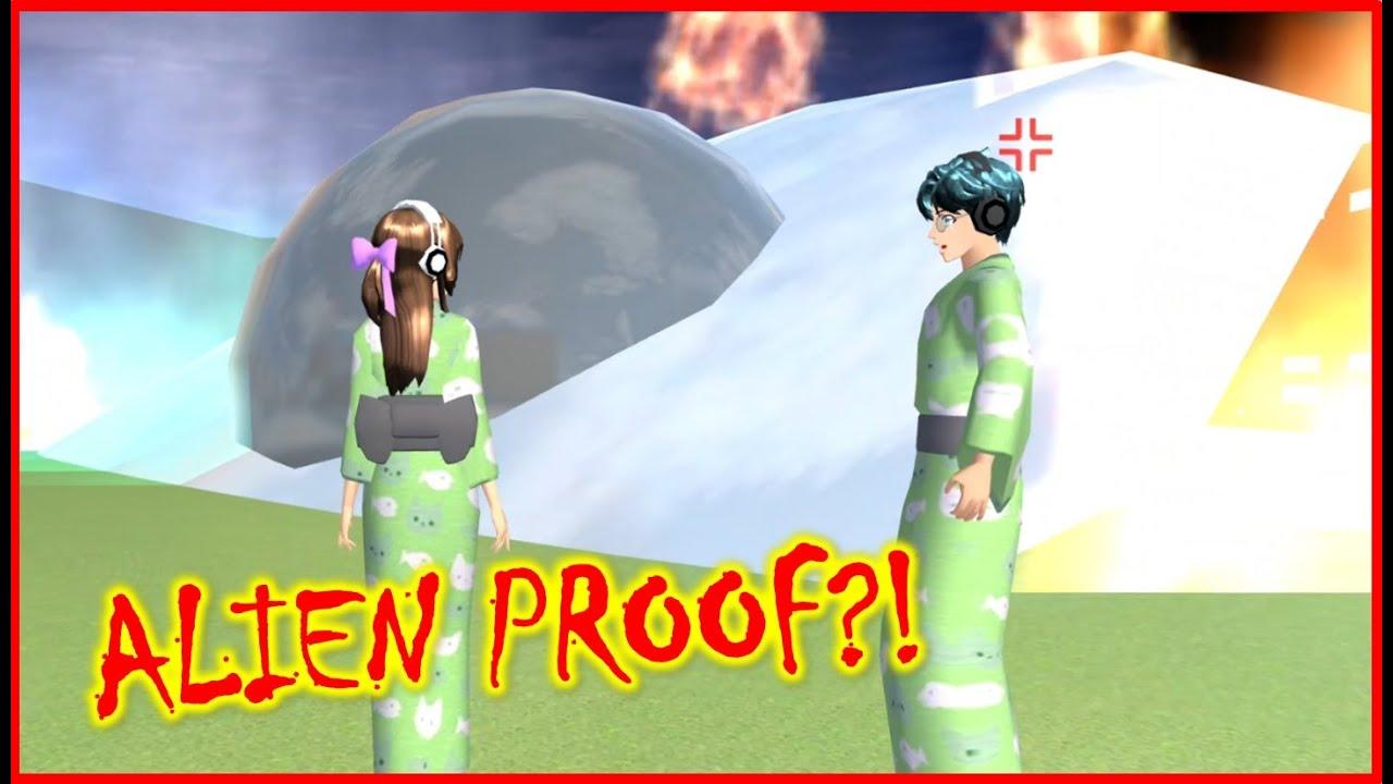 Aliens found in Sakura School Simulator Short Story