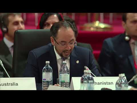 #OSCEMC17 Third Plenary Session: Afghanistan (Partner for Co-operation)