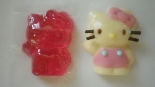 Let's try① お菓子のグミ型再利用  Silverberry type reuse