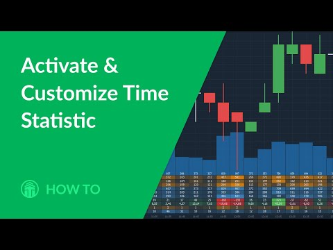 Time Statistics. Activation and selection of various data types