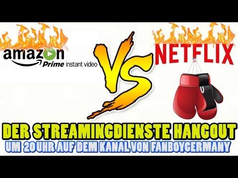 Streamingdienste Hangout (Amazon Prime & Netflix)