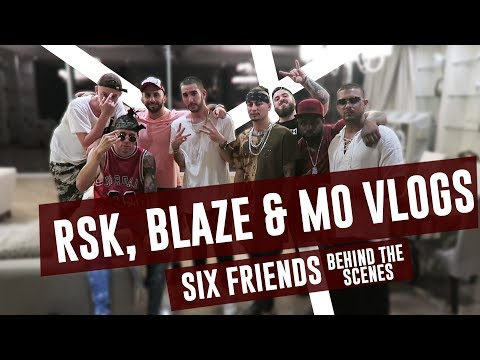 MO VLOGS, RSK, & FAZE BLAZE MUSIC VIDEO (Behind The Scenes)