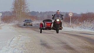 Российские мотоциклы «Урал» с коляской востребованы за рубежом (новости)
