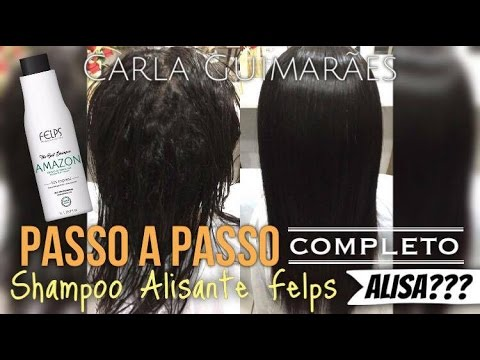 521ce1e4a Shampoo Alisante Felps - Alisa??? - YouTube
