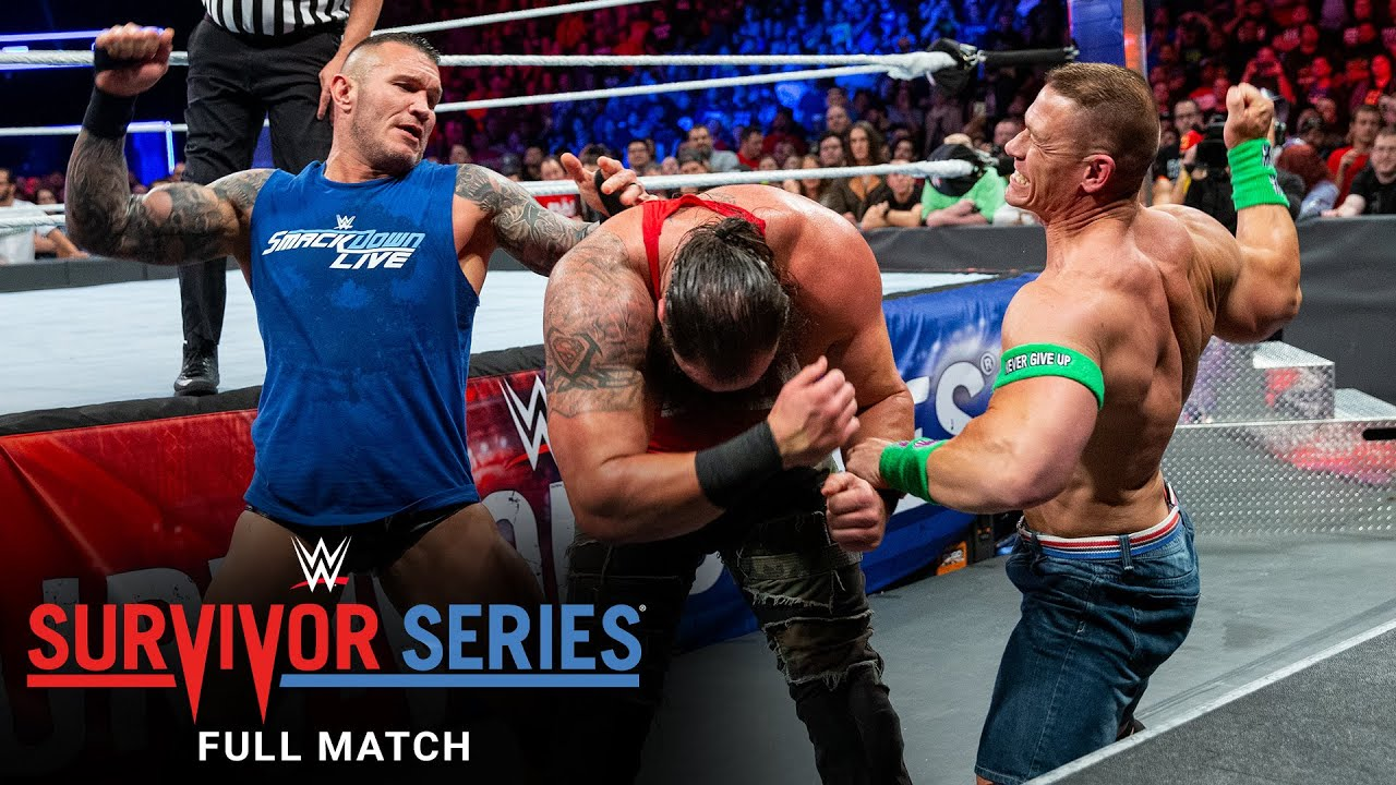 Download FULL MATCH - Team Raw vs. Team SmackDown - Men's 5-on-5 Elimination Match: Survivor Series 2017