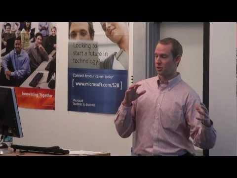 Careers Speaker Series: Josh McDonald of Weber Thompson Architecture 1/4
