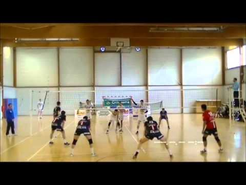 Sennecey le grand VS CFC l'ASUL National 2 volley ball