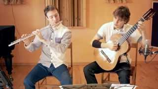 Antonín Dvořák: Humoresque n. 7, op. 101 (AirString Duo, flute and guitar)
