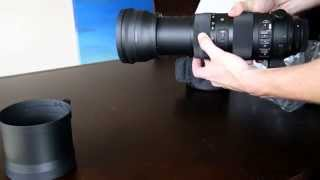 Sigma 150-600 mm Sport - Unboxing, first impressions 1080p (Australia)