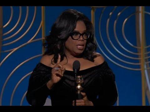 Poruszające przemówienie Oprah Winfrey podczas rozdania Złotych Globów