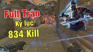 Kỷ Lục Zombi NANO Với 834 KILL FULL Trận, Multi Kill Siêu Phê.