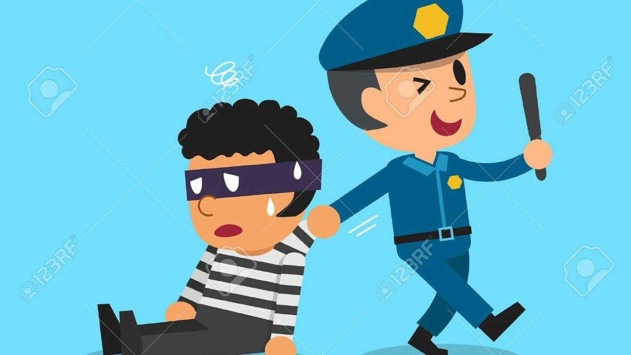 Policia y ladron 😉 😉 😉 😉 - YouTube