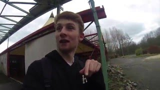 exploring an abandoned theme park
