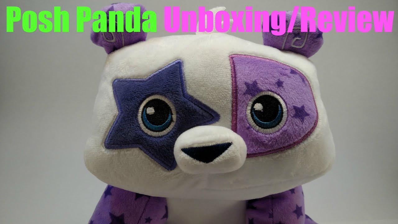 Animal Jam: Posh Panda Stuffed Animal Unboxing/Review ...