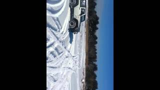 Scotia NY - 2013, February : Wheeling in the snow 3 (Video needs to be fixed and re-uploaded)