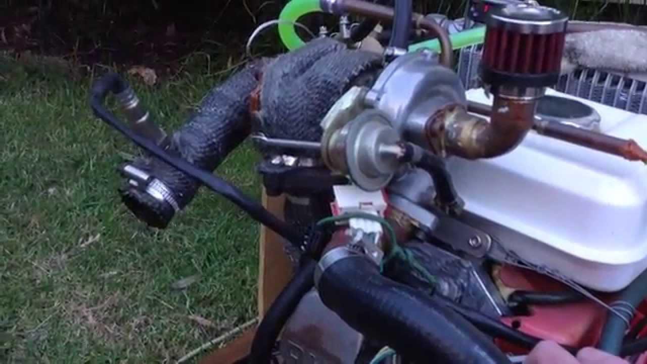 ECOTRONS EFI - 5 5HP Turbocharged EFI Engine - Update