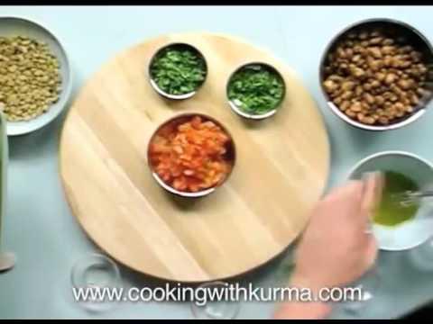 Mexican Bean Salad | Hare Krishna Vege Recipes | Kurma Dasa