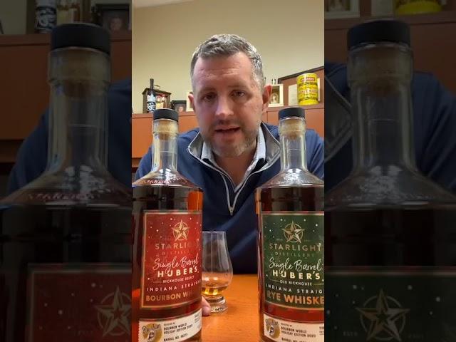 SPECIAL Huber Holiday Single Barrels - Bourbon & Rye