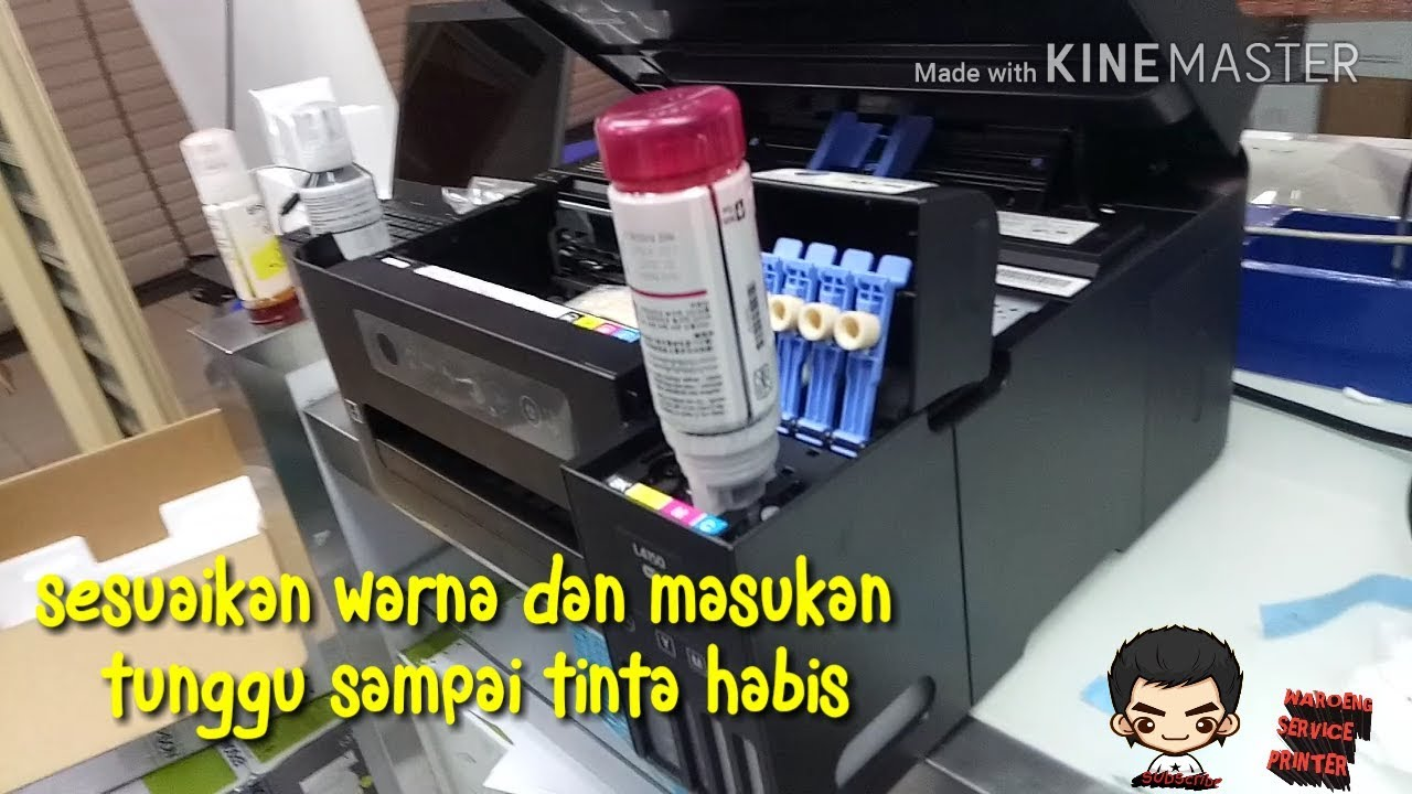 EPSON L4150 INK CHARGING