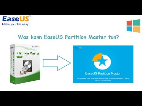 EaseUS Partition Master Anleitung