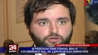 Reacciones tras eventual indulto al ex comandante del Ejército Nicolás Hermoza Ríos