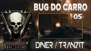 COD BO2 - ZOMBIES - Bug do carro - Tranzit/Diner (Funcionando)