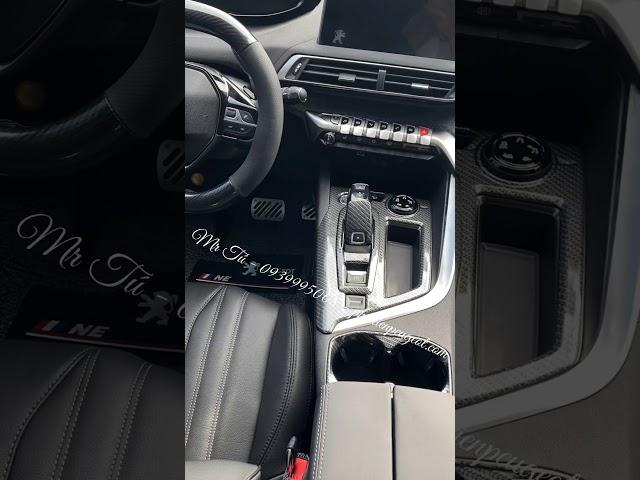 [Thực Tế] Phụ kiện nội thất xe Peugeot 3008 all new