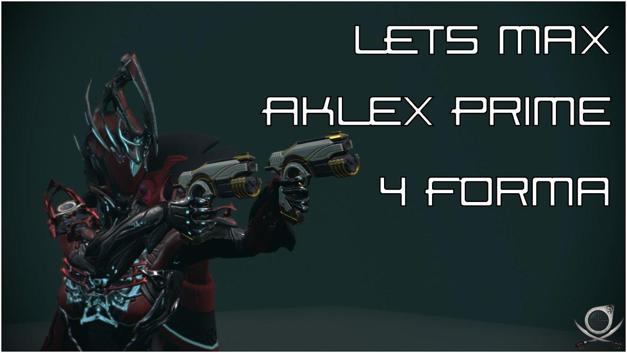 (Warframe) Lets Max AkLex Prime - Twice The Power!!